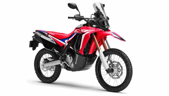 CRF250L RALLY - REDRED