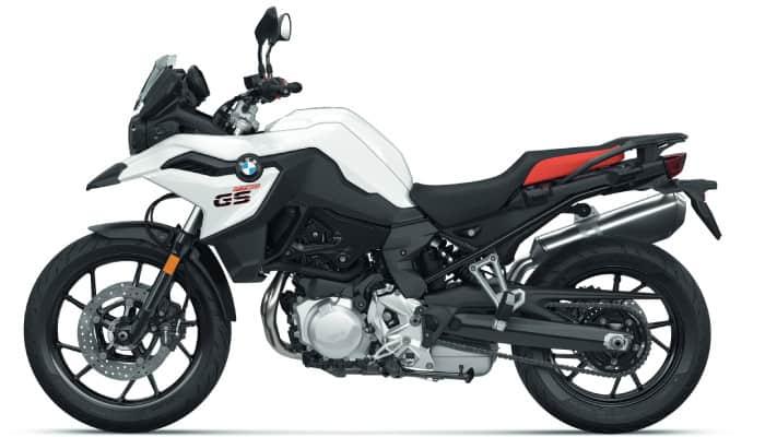 F750GS white