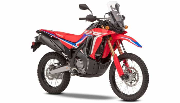 CRF300 Rally - red